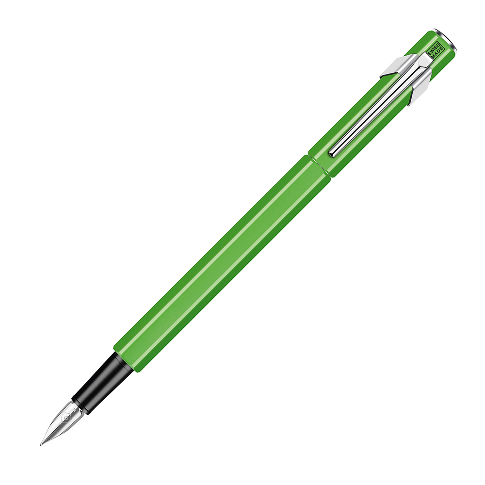 Carandache Office 849 Fluo-Yellow Green Fluo,перьевая ручка,EF 842.230